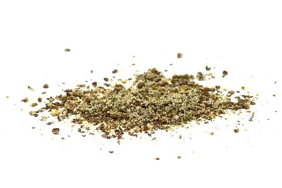 Cannabis gemahlen