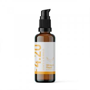 Aceite de CBD para la piel y el cuidado de la bergamota