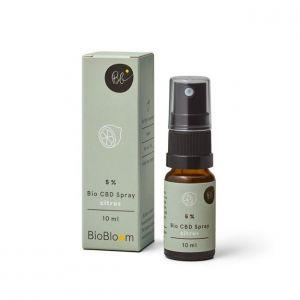 BioBloom 5% Spray de CBD orgánico de Cítricos en spray  10ml