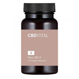 CBD Vital Pure CBG 9 Cápsulas 5%.