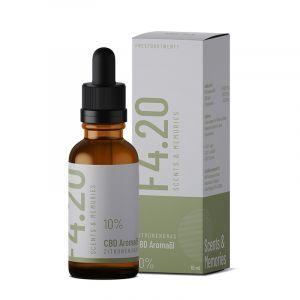 Aceite de CBD 10% con aroma de hierba de limón