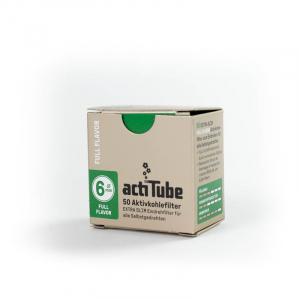 actiTube EXTRA SLIM Filtro de carbón activado 6mm